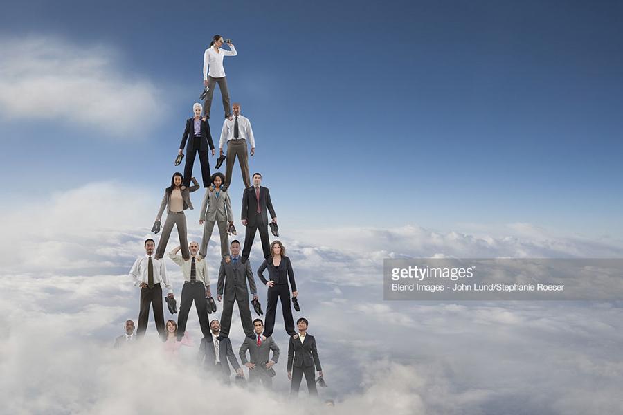 Human+Pyramid