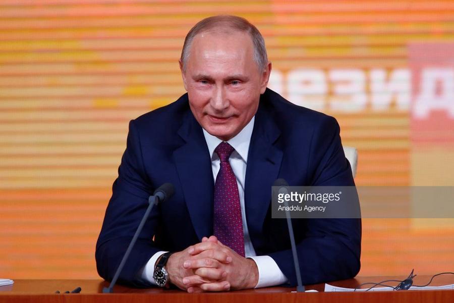 Putin annual press conference