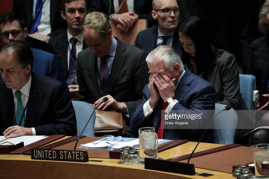Tillerson-UN