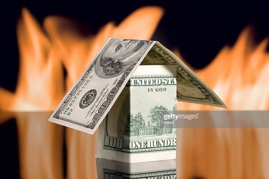 О близком крахе доллара Fire-Dollar