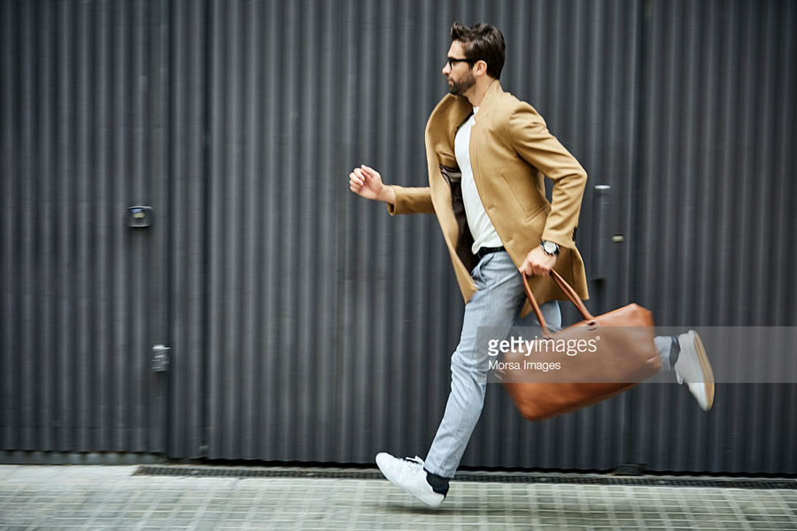 Running-Businessman-Casual