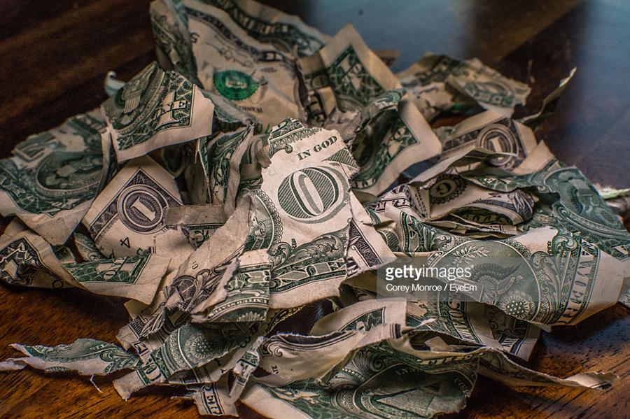 Garbage-Dollar-Bills
