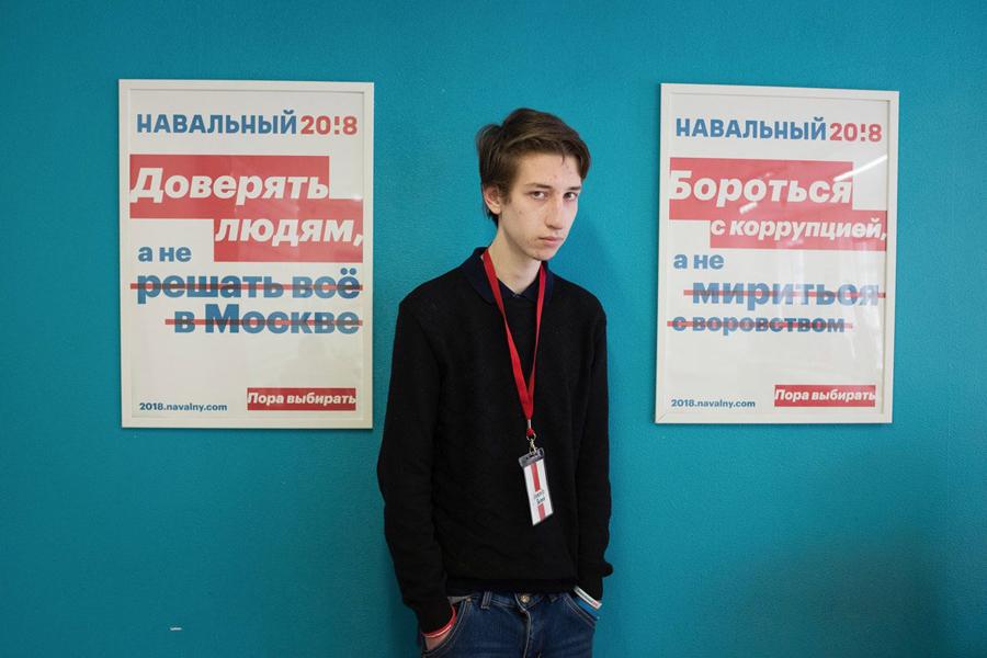 Navalny-Supporter