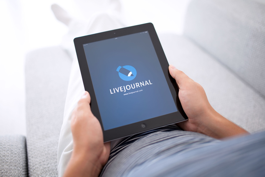 LiveJournal-on-iPad