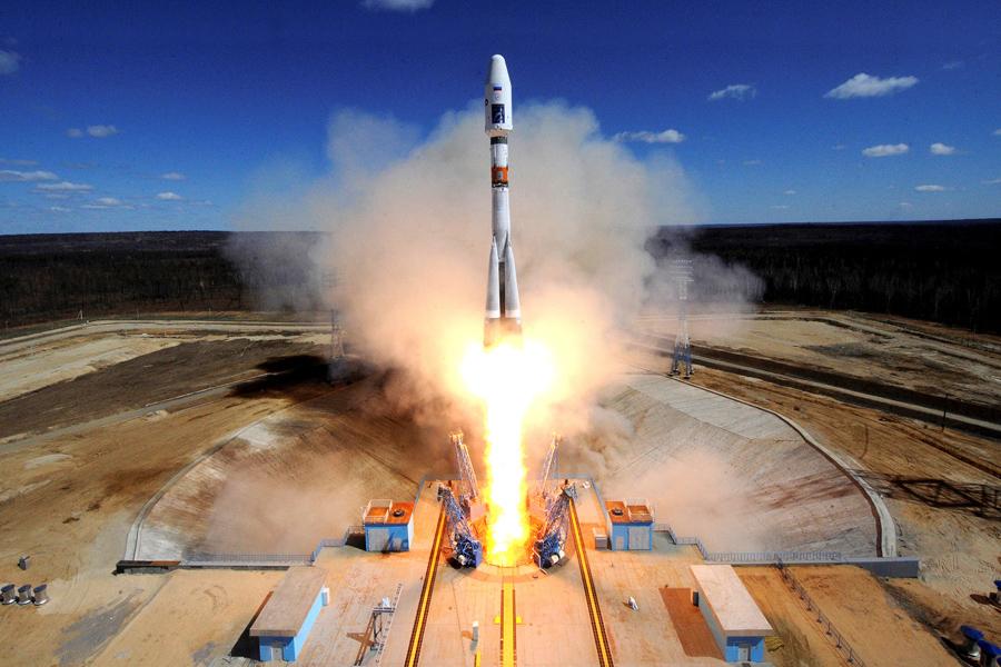 О превосходстве российской космонавтики над американской в двух цифрах Russia-Launch