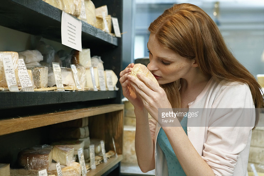 Cheese-Smelling
