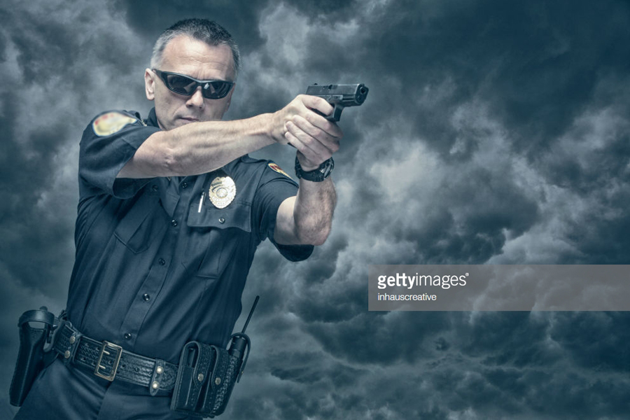 Policeman shooting