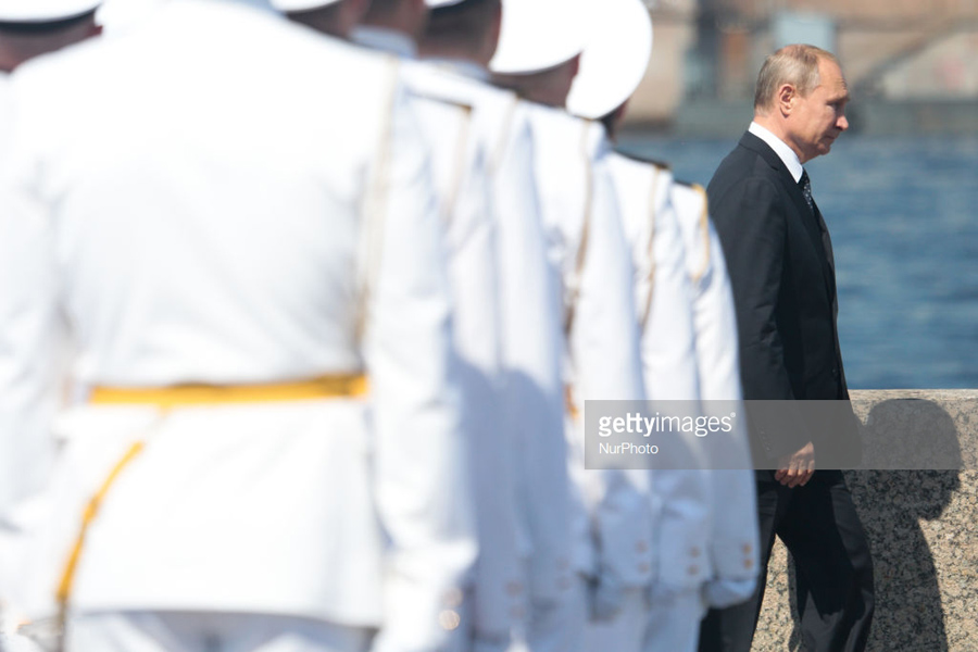 Putin Navy Day