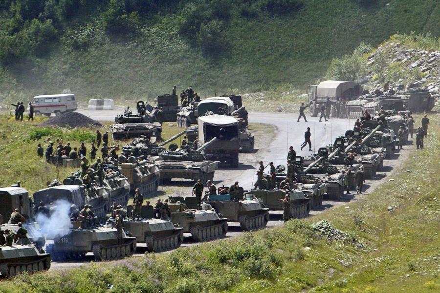 О миролюбивой России, крепко «получившей по зубам» War-080808