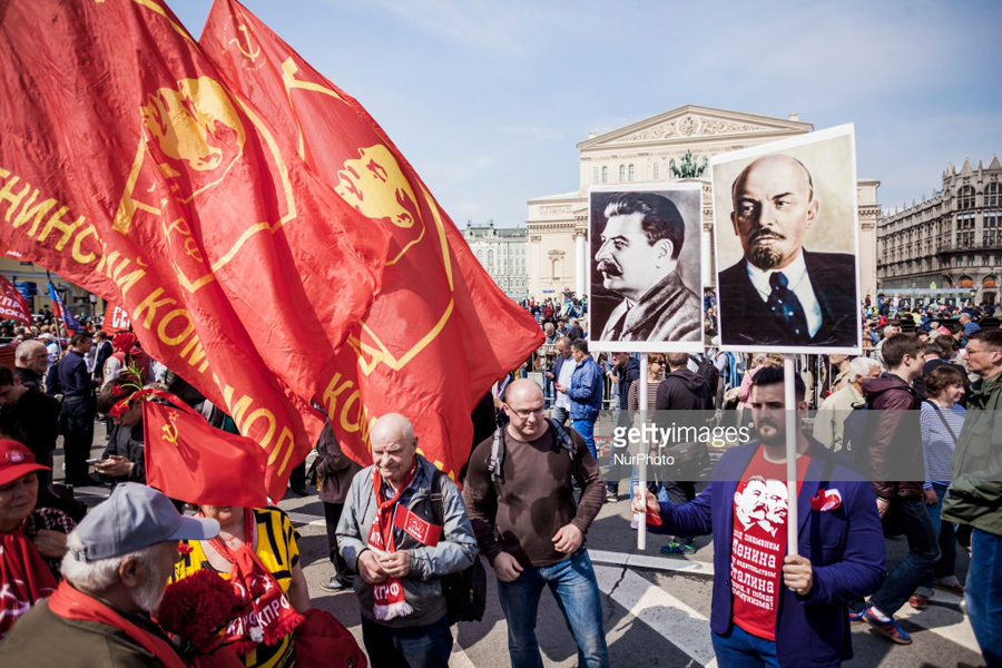 May Day Moscow