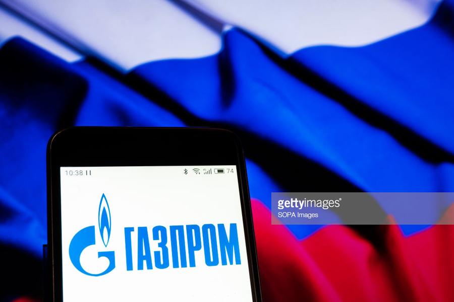 О позоре «национального достояния» России Gazprom-Flag