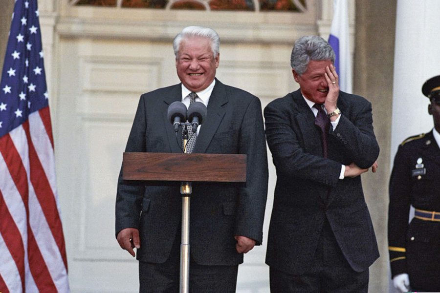 Yeltsin-Clinton