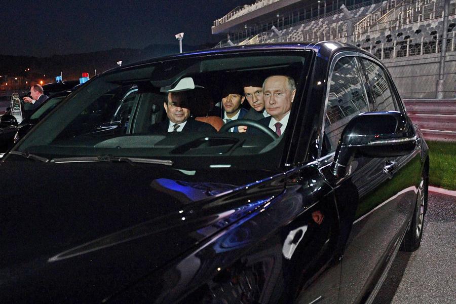 Putin-Driver
