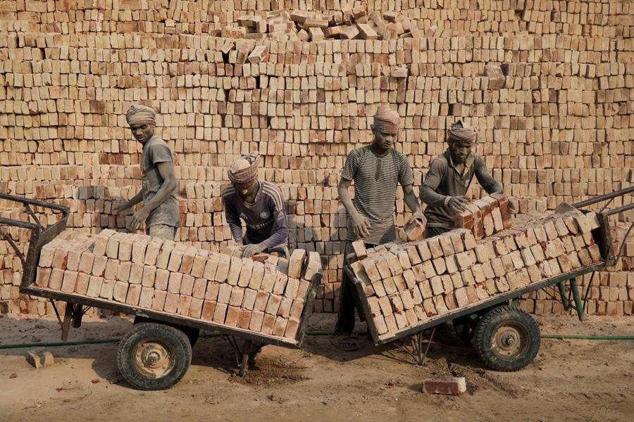 Brick-factory