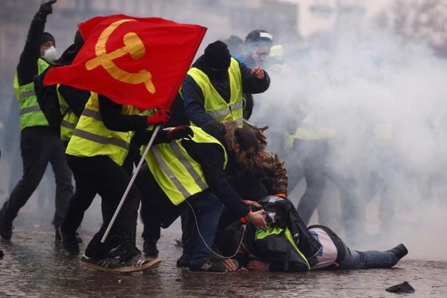 Yellow Vest Red Flag