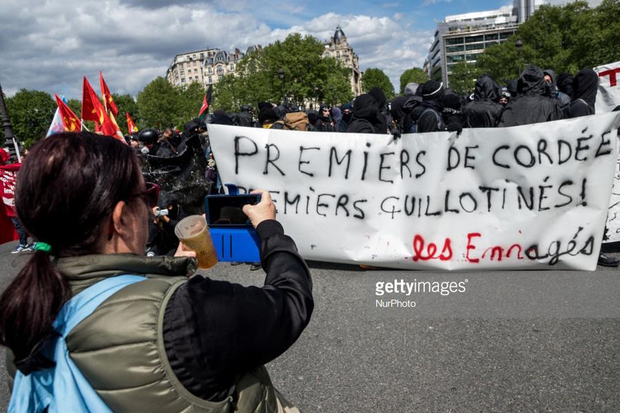 May Day Paris