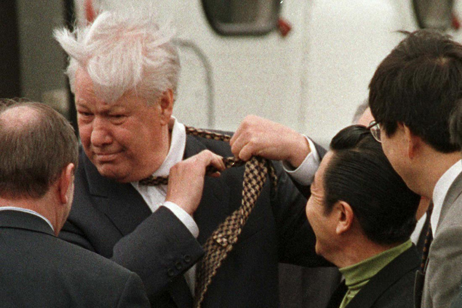 Yeltsin-Japan