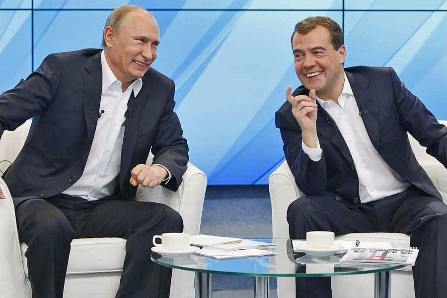 Putin-Laugh-Medved