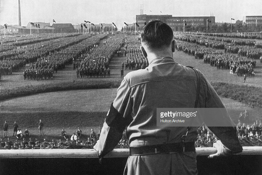 Nazi rally in Germany