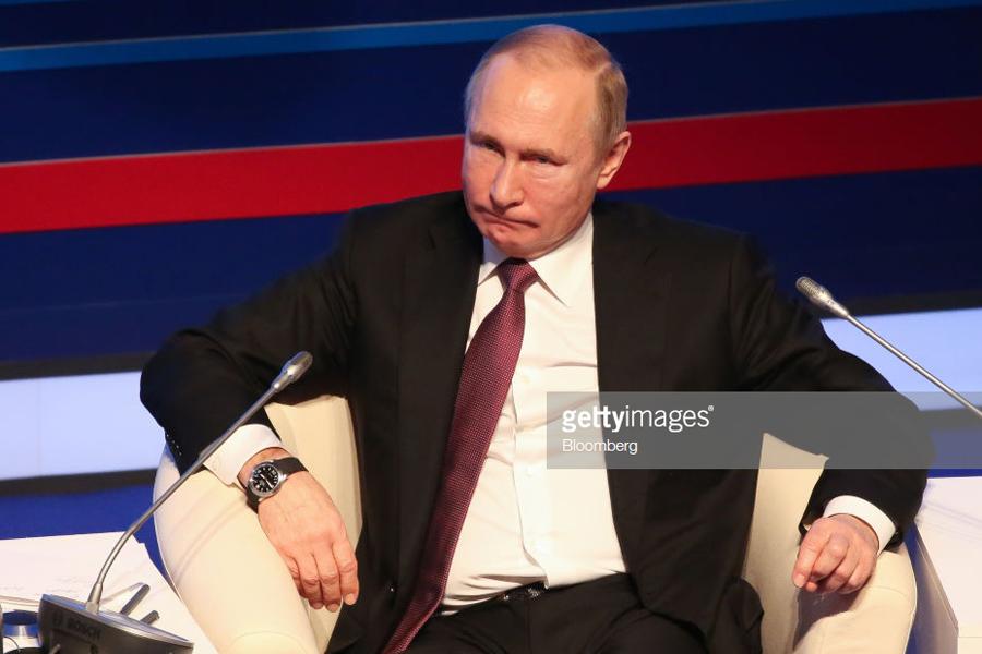 О заметавшемся Путине