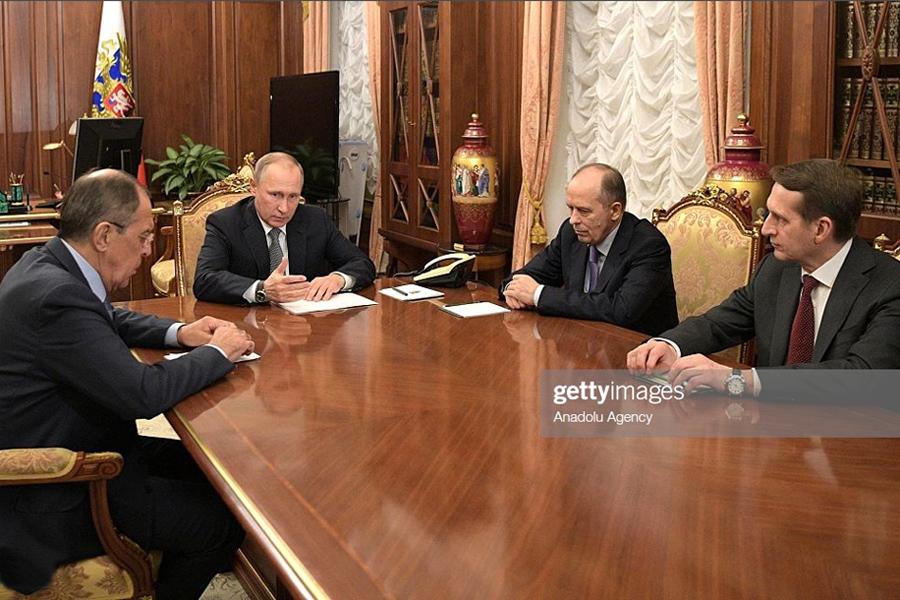 Putin meeting FSB