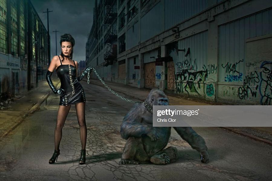 Gorilla-Woman