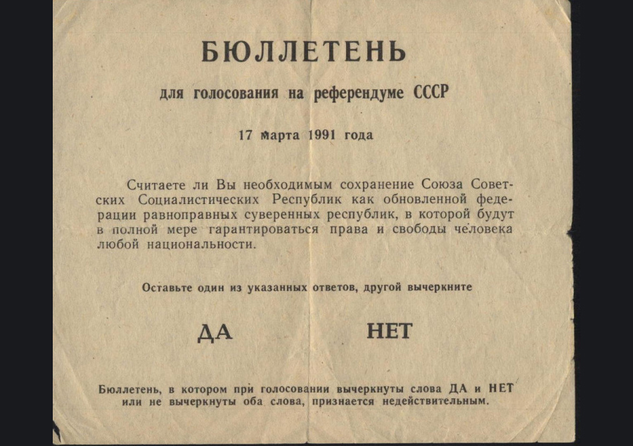 USSR-Referendum