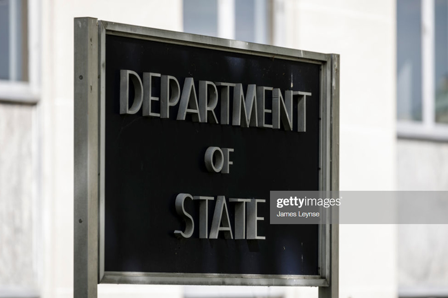 Department of State in Washington