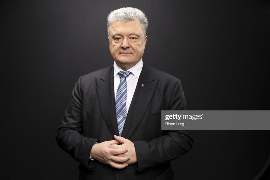 Poroshenko-Stand