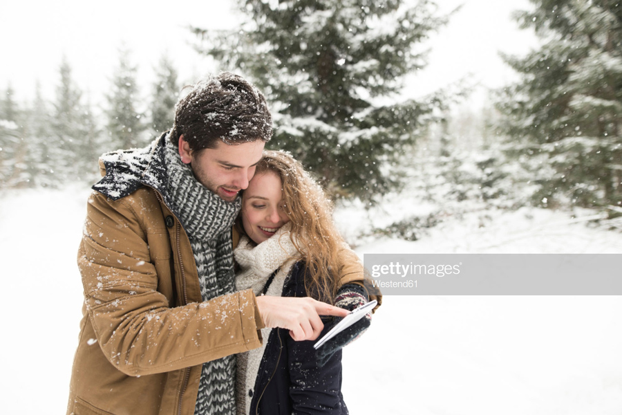Couple-Winter