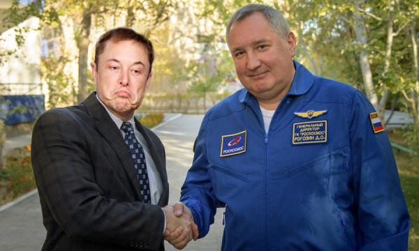 О двух причинах успеха Маска и провала Рогозина в одном фото