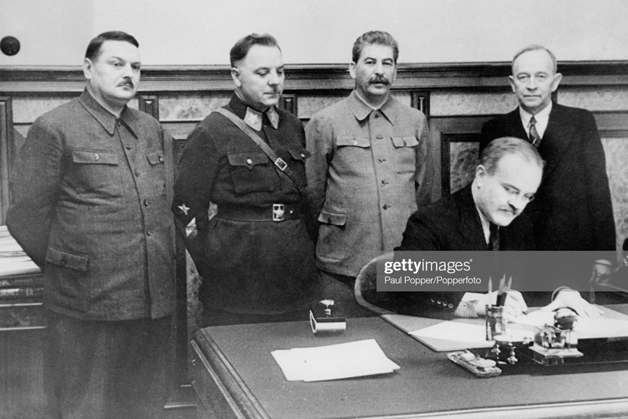 О территориальных приобретениях великого вождя Stalin-Pact