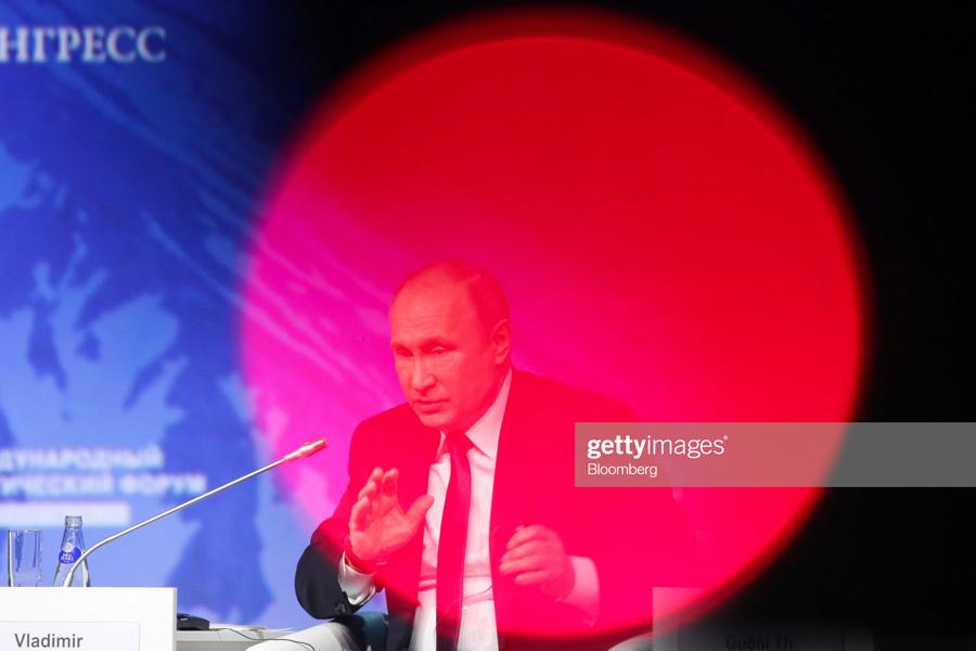 О необычном даре Владимира Путина Putin-Arctic