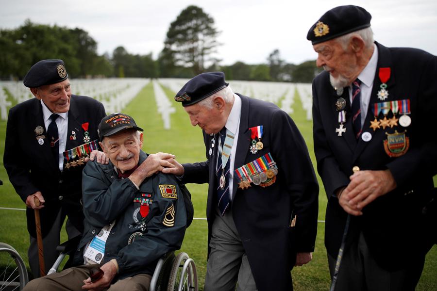 О ветеранах Дня Д D-Day-Veteran
