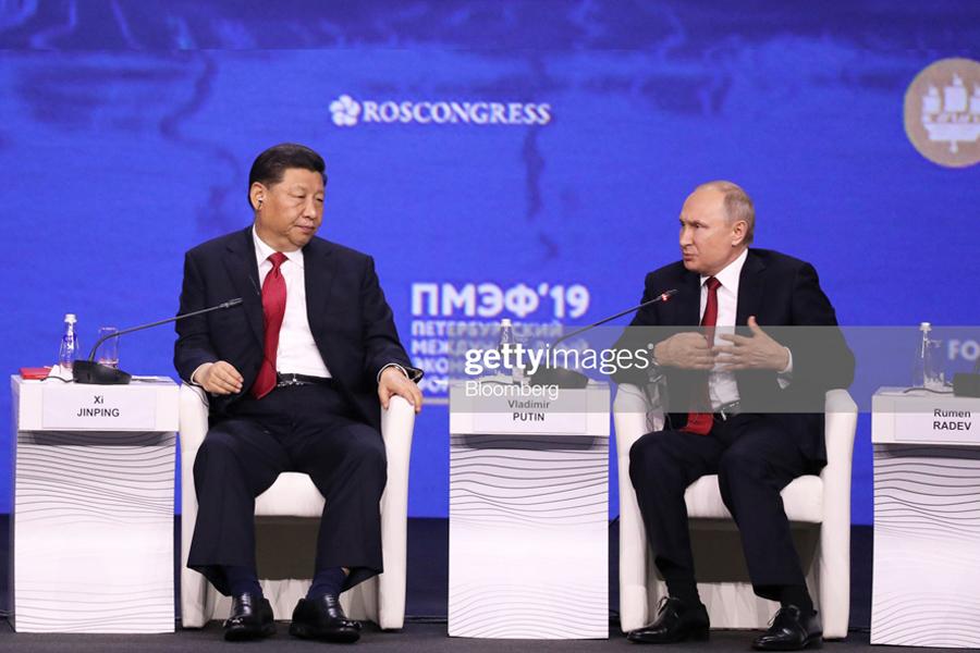 Putin-Xi-SPIEF