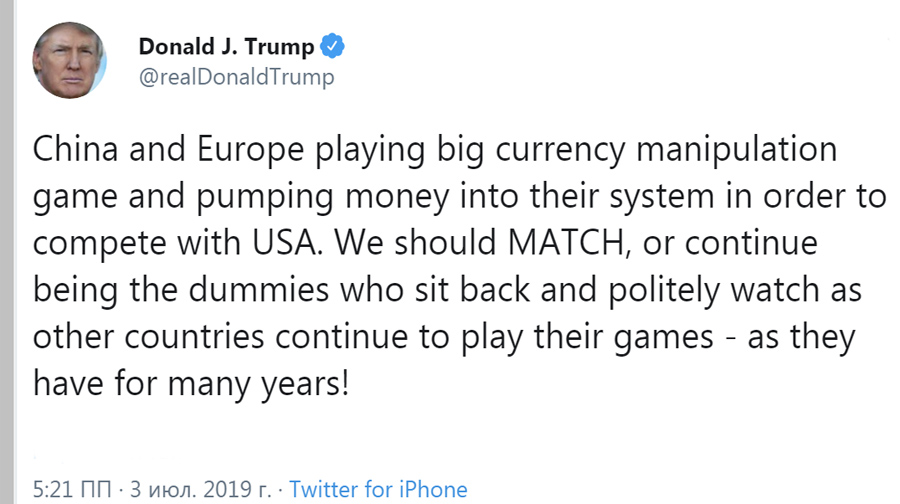 Tweet-Trump-Currency