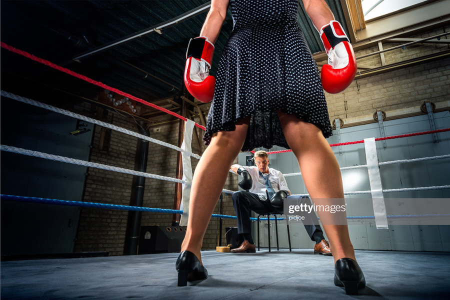 Female-Boxing