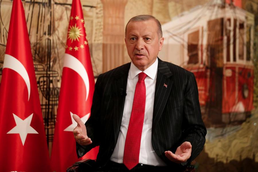 О лукавом друге, одурачившем Путина Erdogan-Reuters