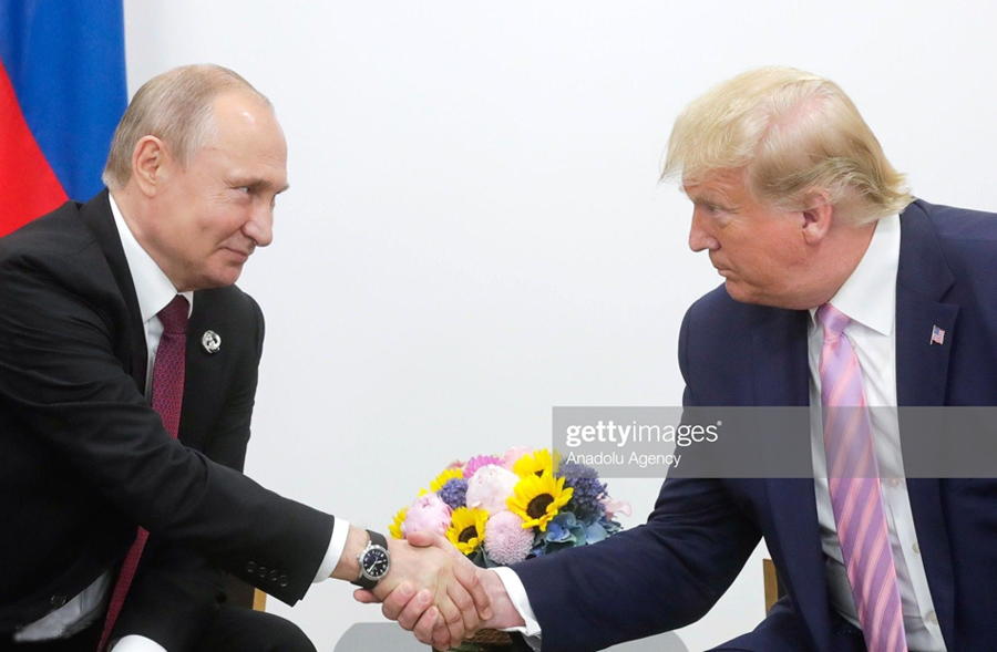 Putin - Trump meeting in Osaka