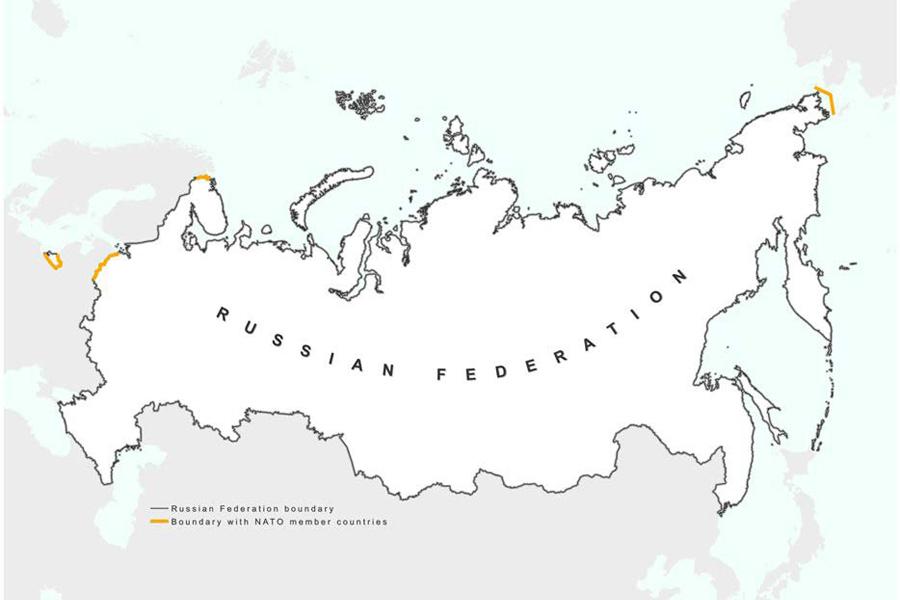 RUS-NATO-Borders