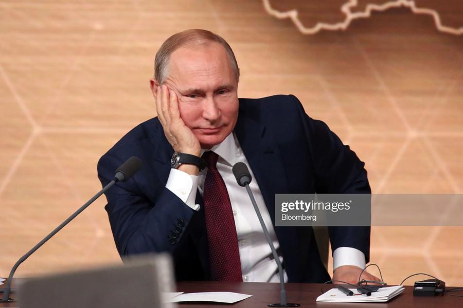 О нездоровье Владимира Путина Putin-Smile