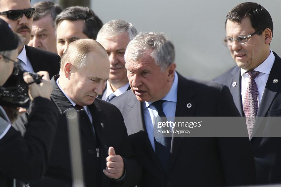 Sechin+Putin