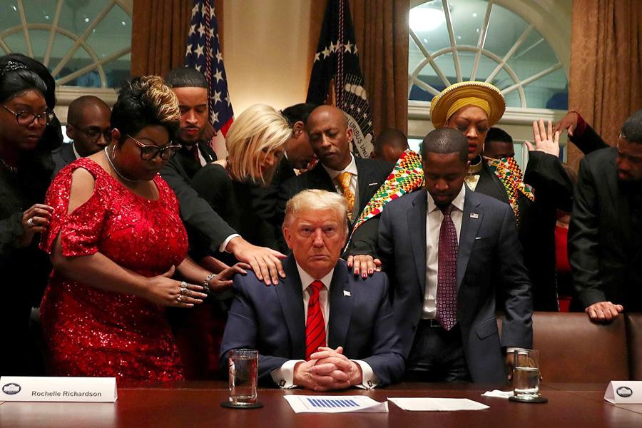 Donald-Trump-electorat-afro-americain