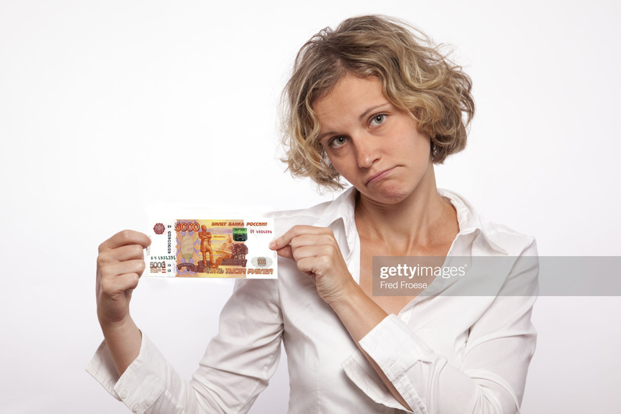 Sad-Woman-Money