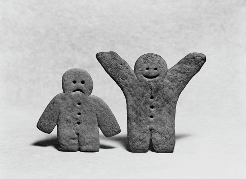 Happy and Sad Gingerbread