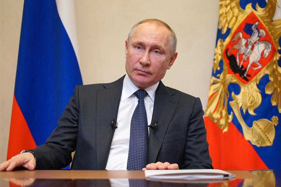 Об экстренной самоизоляции Владимира Путина
