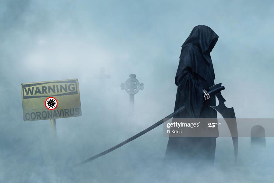 CoVID-19-Grim Reaper