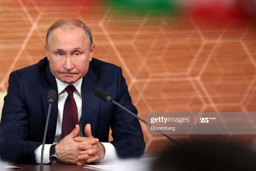 О долгожданном «сливе» Владимира Путина Putin-React