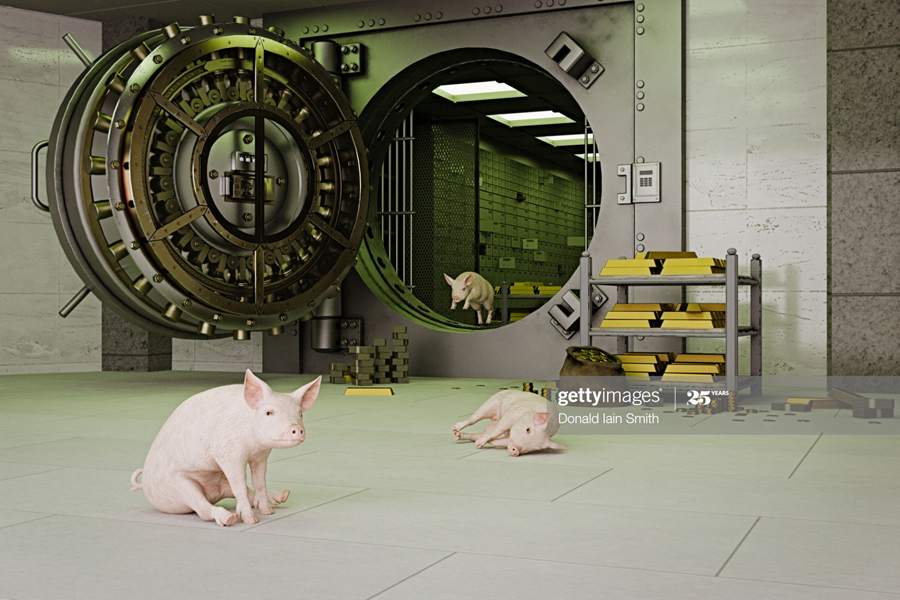 Gold-Pig-Safe