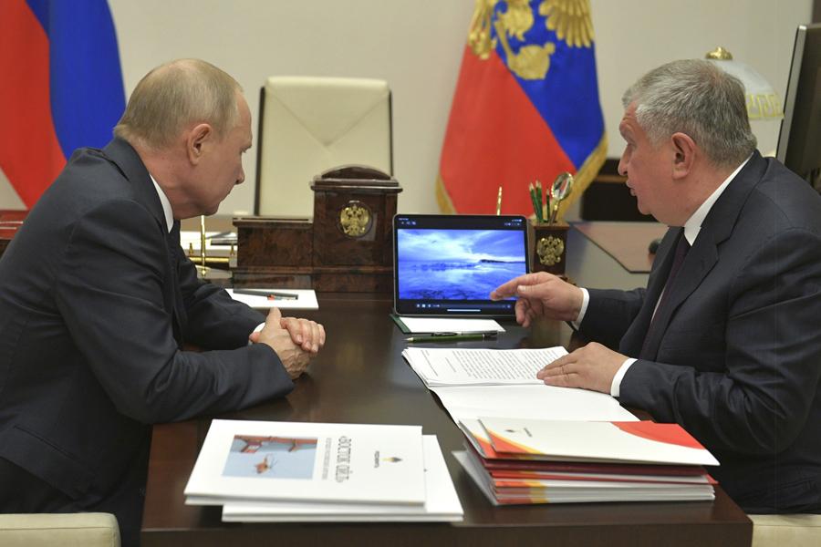 Sechin-Putin